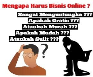 Alasan mengapa bisnis online