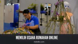 memilih usaha rumahan online