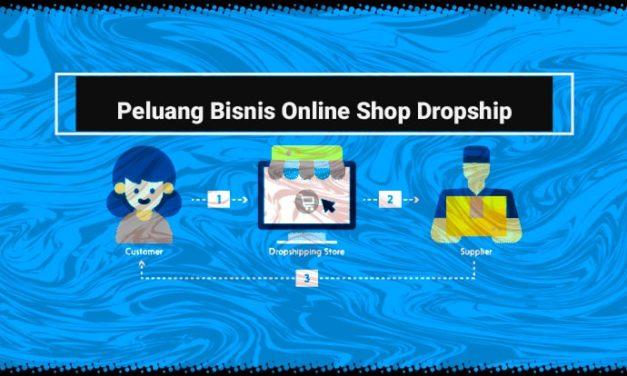 Peluang Bisnis Online Shop Dropship Yang Tahan Lama